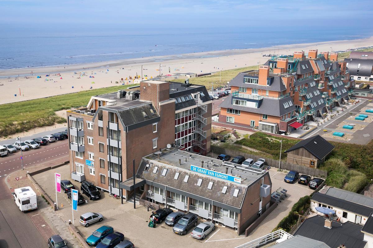 4 persoons appartement e4f   roompot vakanties egmond aan zee